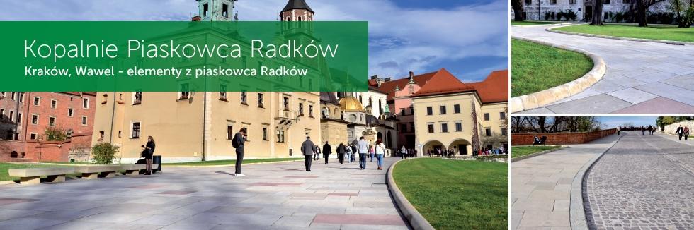 Piaskowiec - Wawel w Krakowie